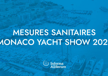 Health measures at the 2021 Monaco Yacht Show